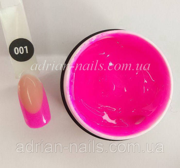 Poly Gel Color Adrian Nails - 001 (15грамм)