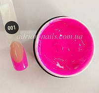 Poly Gel Color Adrian Nails - 001 (15грамм), фото 1