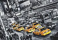 Фотообои: Такси Нью-Йорк, 366х254 см, 8 частей
