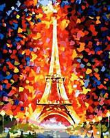 "Картина раскраска по номерам ""Эйфелева башня"""