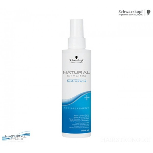 Спрей для ухода за волосами перед химической завивкой Schwarzkopf Professional BC Bonacure Natural Styling