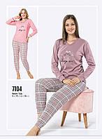 Женская пижама зима Fawn интерлок 7104
