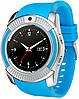 Смарт-часы UWatch V8 Blue (3_2390)