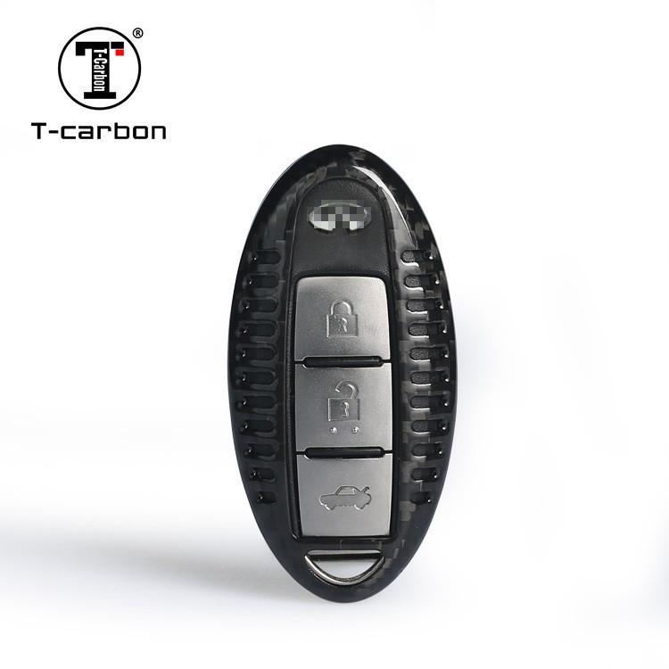Карбоновый чехол для ключа Nissan quachqai,Juke, GT-R,leaf,Patrol,Murano, Navara,Note,Pathfinder,teana,Tiida