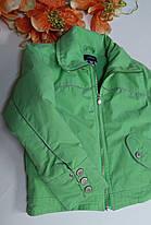 Детская куртка осень - зима на флисе Размер 104-110, фото 3