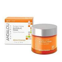 Маска для лица с тыквой и гликолиевой кислотой Andalou Naturals Brightening Pumpkin Honey Glycolic Mask