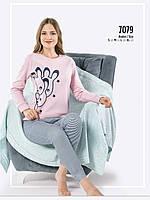 Женская пижама зима Fawn интерлок 7079