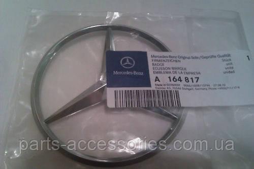 Mercedes GL X164 X 164 значок эмблема на крышку багажника новая оригинал