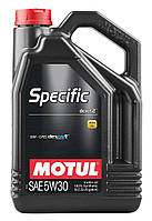Моторное масло Motul Specific Dexos 2 5W-30 5л (102643)
