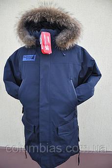 Длинная мужская зимняя куртка Ривер
