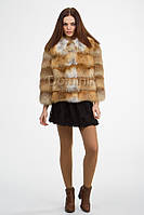 Куртка из меха лисы 0061-02200 длина 54 см