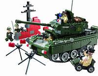 Конструктор Brick 823 Военный танк
