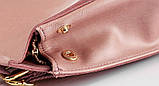 Рюкзак жіночий сумка шкіряна з клапаном. Трансформер з натуральної шкіри (бордовий), фото 7
