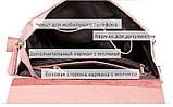 Рюкзак жіночий сумка шкіряна з клапаном. Трансформер з натуральної шкіри (бордовий), фото 9