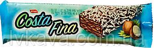 Шоколадные вафли Costa Fina Simsek с кокосовой стружкой , 40 гр