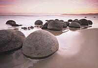 Фотообои: Валуны Моэраки, 366х254 см, 8 частей
