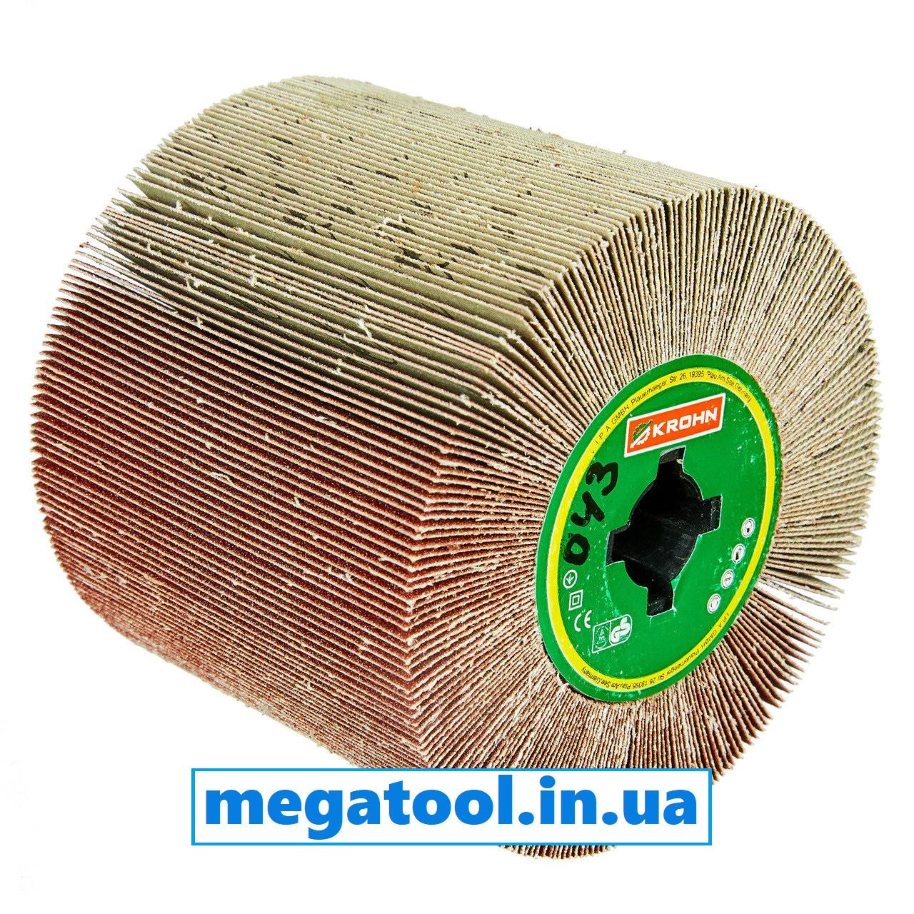 Щетка шлифовальная из листов наждачной бумаги P180 KROHN 200911043