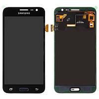 Дисплей Samsung J320H/DS Galaxy J3 (2016), черный, с сенсорным экраном, с регулировкой яркости, (TFT), Сopy