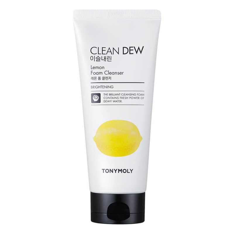 Очищающая пенка для умывания Tony Moly Clean Dew Foam Cleanser Лимон