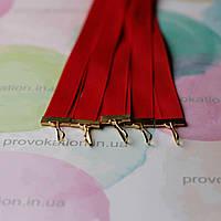 Лента для медалей и наград, Красная, 12мм, 65см