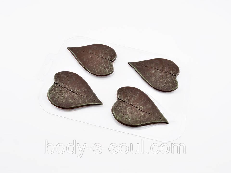 Пластиковая форма для шоколада Листья сирени