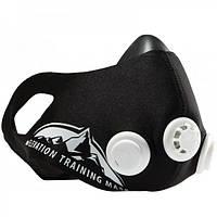 Маска для тренировки дыхания RIAS Training Elevation Mask 2.0 L Black (3_4455), фото 1