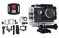 Водонепроницаемая экшн камера RIAS S3R с пультом 4K Wi-Fi Black (3_6018)