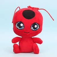 Мягкая плюшевая игрушка Леди Баг и Супер Кот - квами Тикки 15 см