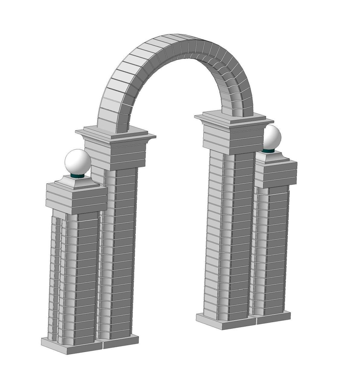 Бетон арки диффузионный бетон