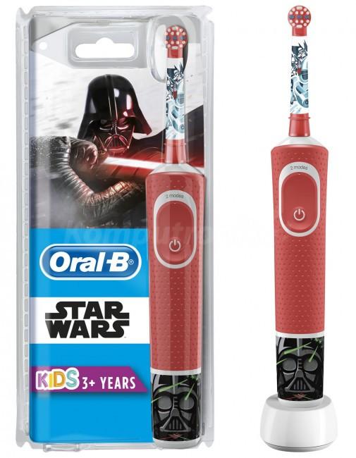 Електрична зубна щітка дитяча Braun Oral-B Stages Power D100 Starwars/Зоряні Війни