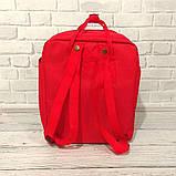 Комплект сумка, рюкзак + Органайзер Fjallraven Kanken Classic, канкен класик. Красный 7102, фото 5