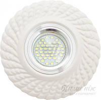 Светильник точечный Romanof Ceramics Бриз П MR16 GY6.35 белый 1221-00 T30812802