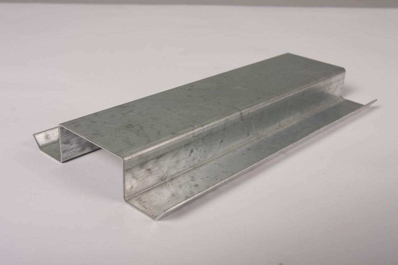 Оцинкованный профиль шляпный  (ФПОА-01-40), тол. 2 мм