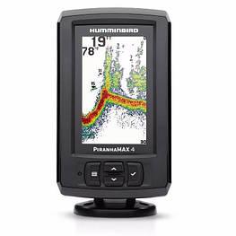 Эхолот Humminbird PiranhaMax 4 DI Двойной Луч,Fish ID +, цветной дисплей, меню на русском