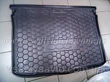 Коврик в багажник FIAT 500X с 2014 г. (AVTO-GUMM) пластик+резина