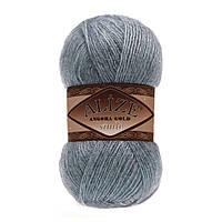 ANGORA GOLD SIMLI 665 светлый джинс - 20% шерсть, 5% металлик, 75% акрил