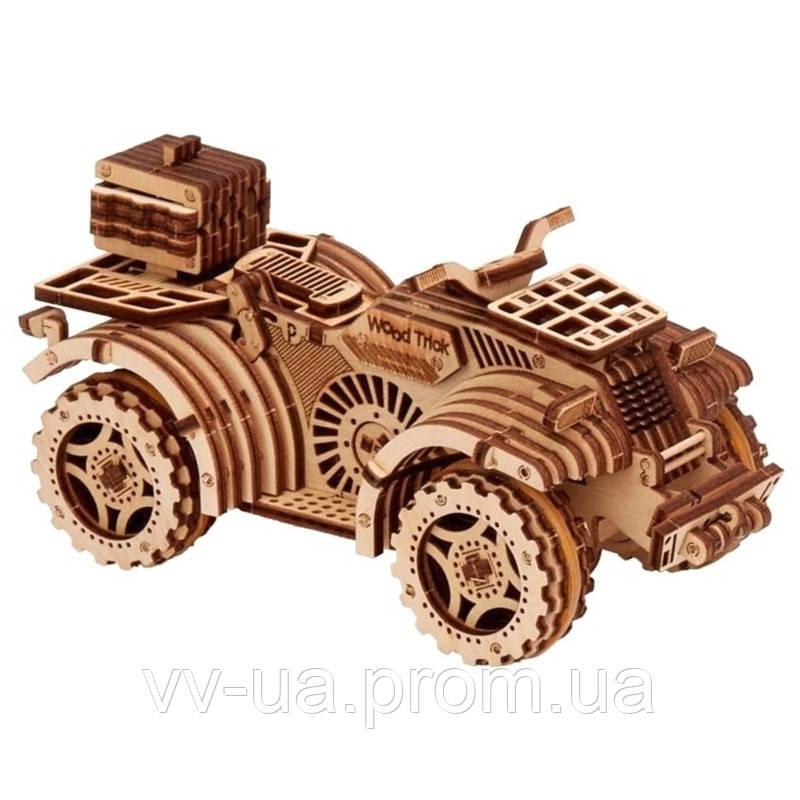 Механический 3D-пазл Wood Trick Квадроцикл (4820195190296)