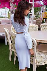 Женский костюм топ и юбка  , фото 2