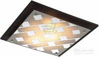Светильник настенно-потолочный Altalusse Chrome & Walnut 1x13 Вт E27 хром INL-3088C-03 T30894386