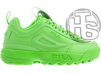 Женские кроссовки Fila Disruptor 2 Mono Neon Green 5FM00540-300