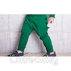 Штаны для мальчика, зеленые. Шипы.