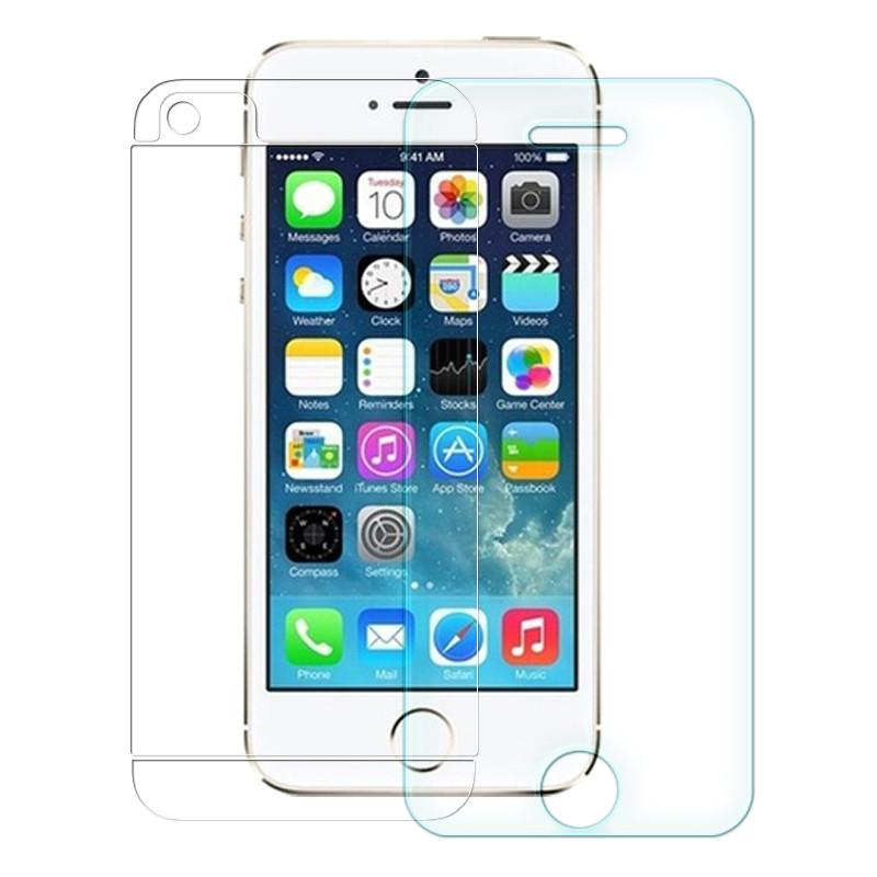 Защитное стекло iPhone 5 2 стороны
