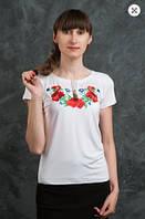 Вышиванка  футболка женская   692  (Н.А.)