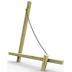 Ігровий елемент дитячого майданчика White Rhino Sail