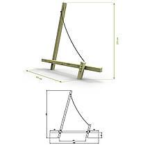 Ігровий елемент дитячого майданчика White Rhino Sail, фото 3