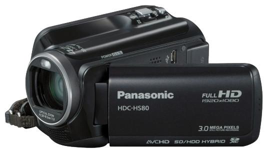 Відеокамера Panasonic HDC-HS80 black