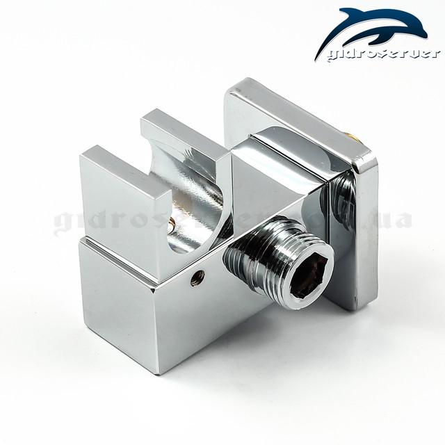 Подключение с держателем для лейки ручного душа UD-20 с размером соединительной резьбы 1/2 дюйма.