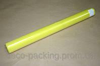 Желтая органза для упаковки цветов 50 см * 9 ярдов