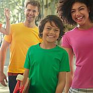 Новинка. Однотонные футболки премиум качества от Fruit of the loom.