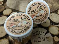 Арахісова паста з білим шоколадом, 180 гр ТМ MANTECA